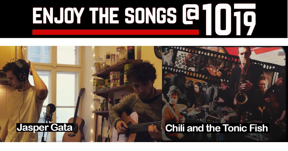 enjoy the songs: Jasper Gata • Chili and the Tonic Fish 4.11.2020 @ Club 1019