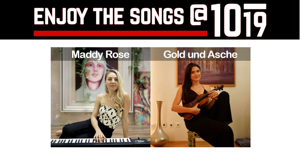 enjoy the songs: Maddy Rose • Gold und Asche 25.11.2020 @ Club 1019