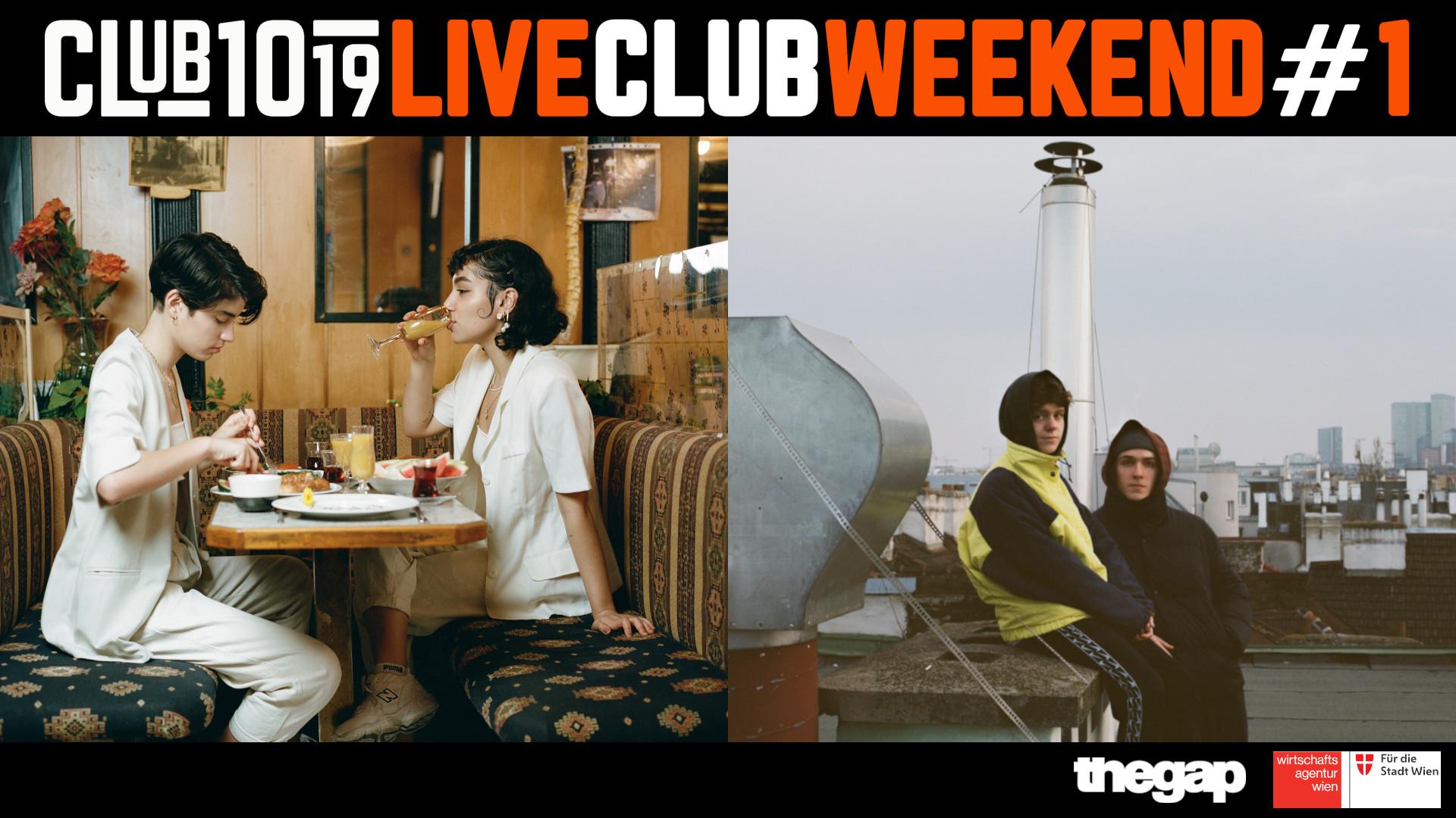 Aze • Skofi & Skyfarmer @ 1019 Live Club Weekend #1