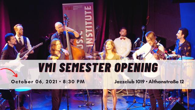 VMI Semester Opening